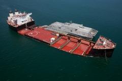 USNS Montford Point and JHSV