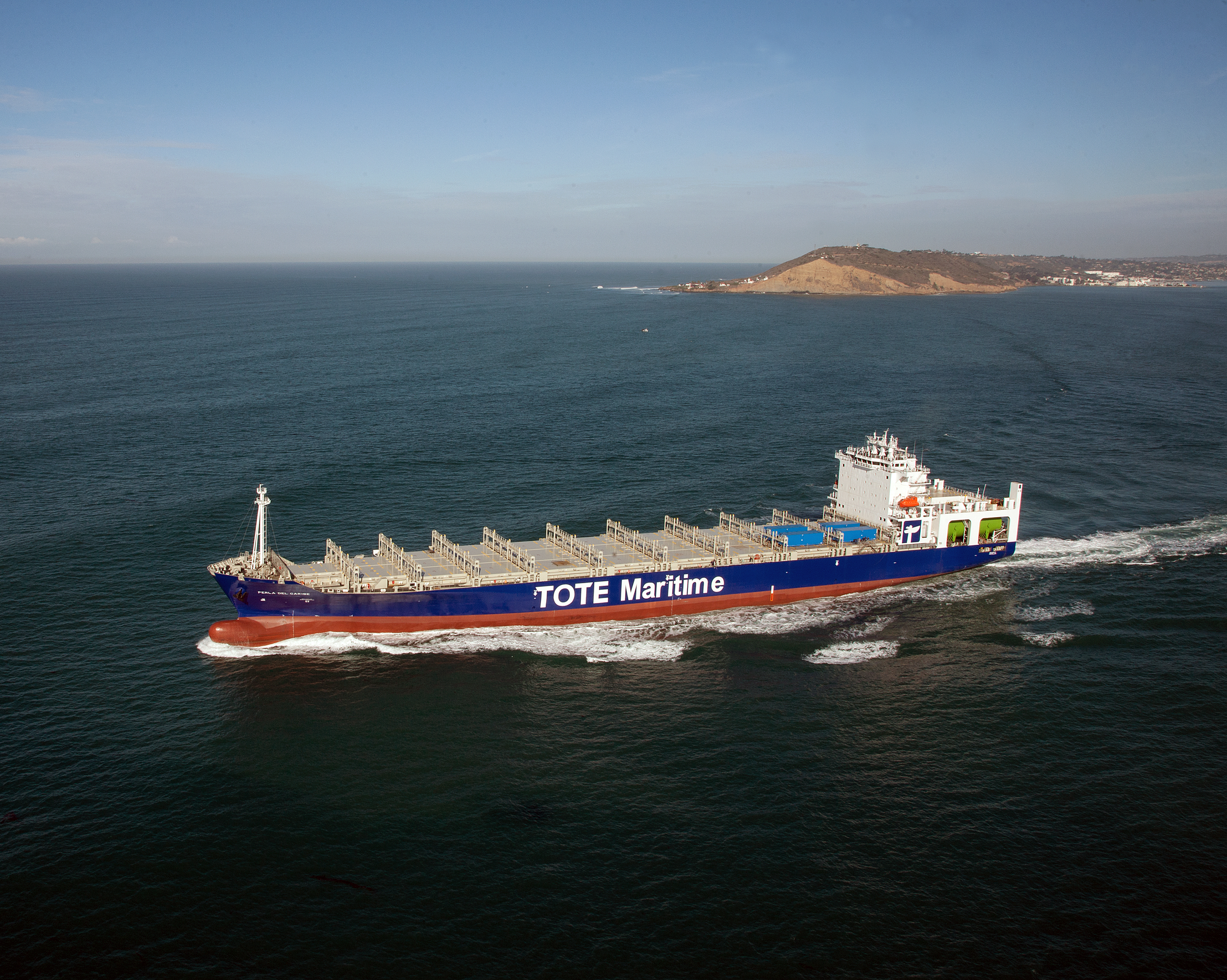The World's First LNG-Powered Containerships: The Perla del Caribe