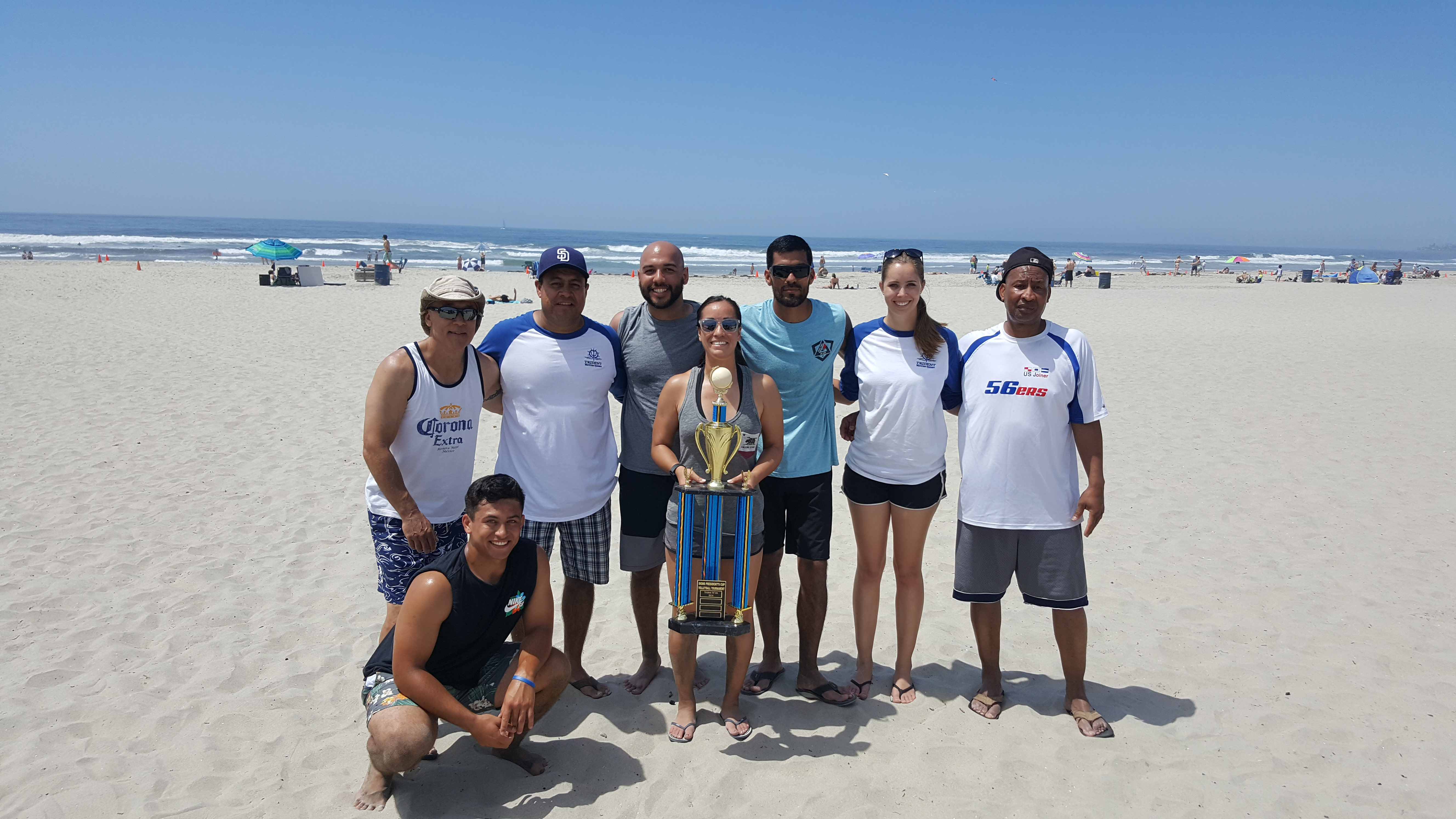 SIGNs Volleyball 2017 Winners Trident