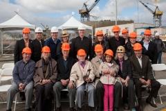 USNS John Glenn Mast Stepping Ceremony - The Glenn Family