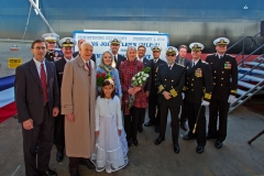USNS John Glenn Christening Ceremony - Ceremony Participants