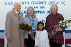 USNS John Glenn Christening Ceremony
