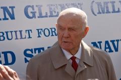 USNS John Glenn Christening Ceremony - Senator John Glenn