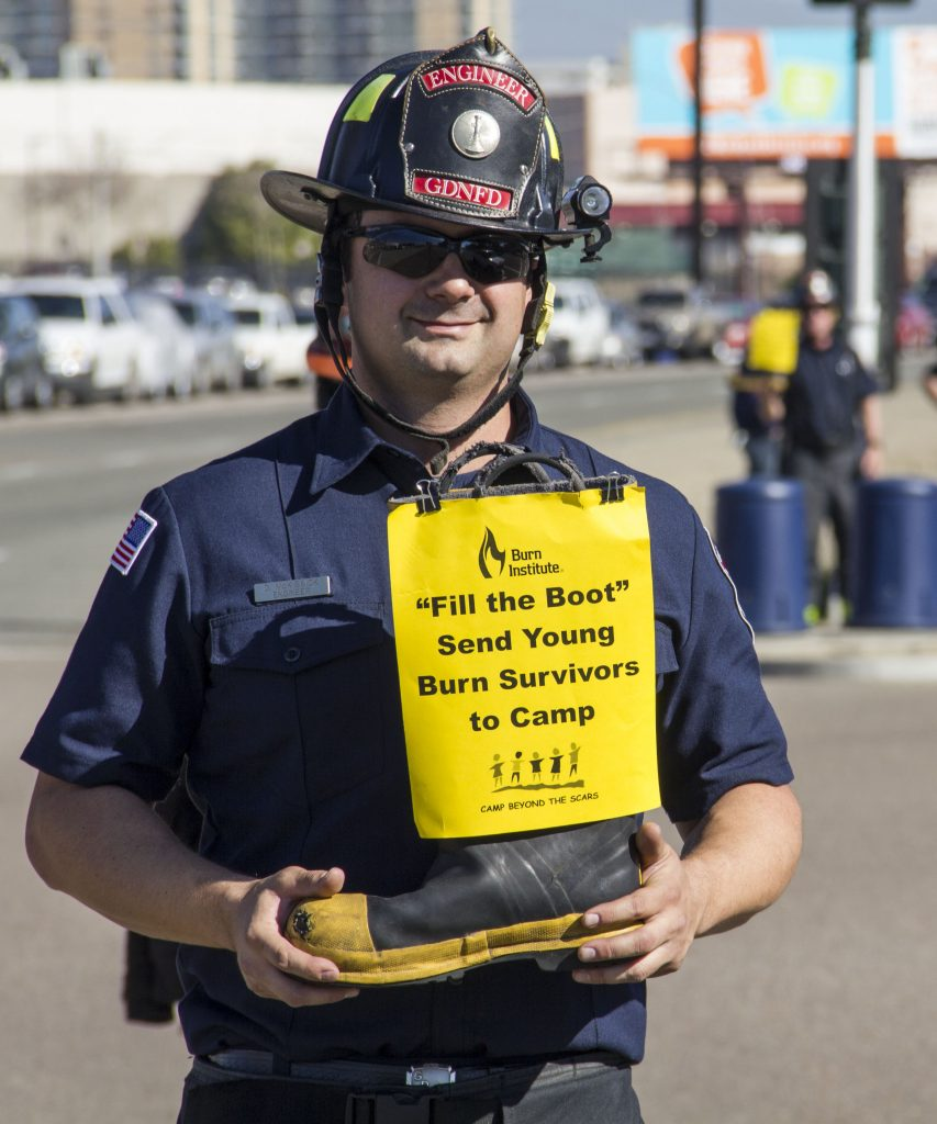 Firefighter Donation Drive for Burn Institute @ San Diego | California | United States