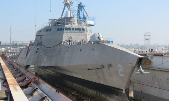 4-4-16 LCS 2 Independence in Dry Dock (44)