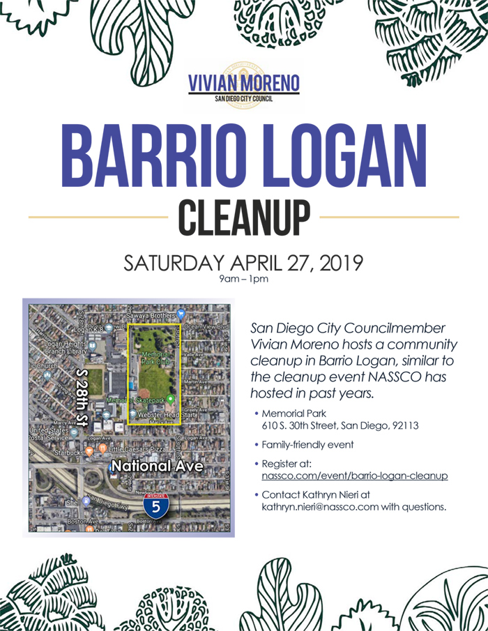 Barrio Logan Cleanup @ Memorial Park