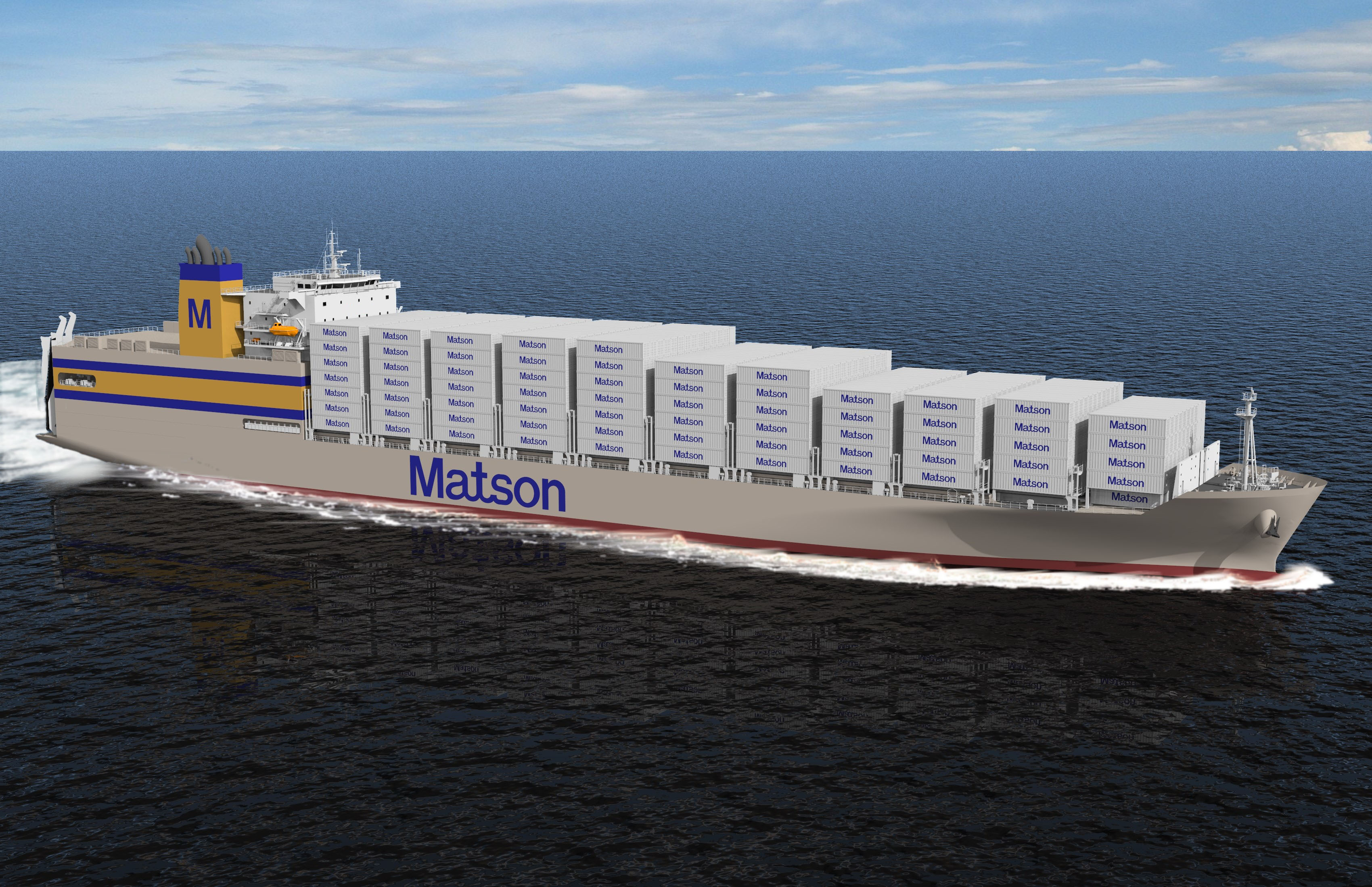 Matson Building New Ships