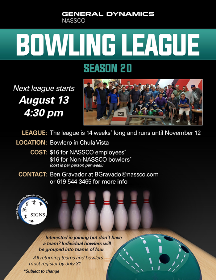SIGNS Bowling League @ Bowlero