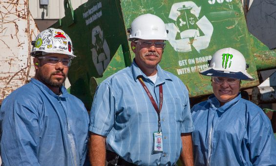 Recycling Center Employees