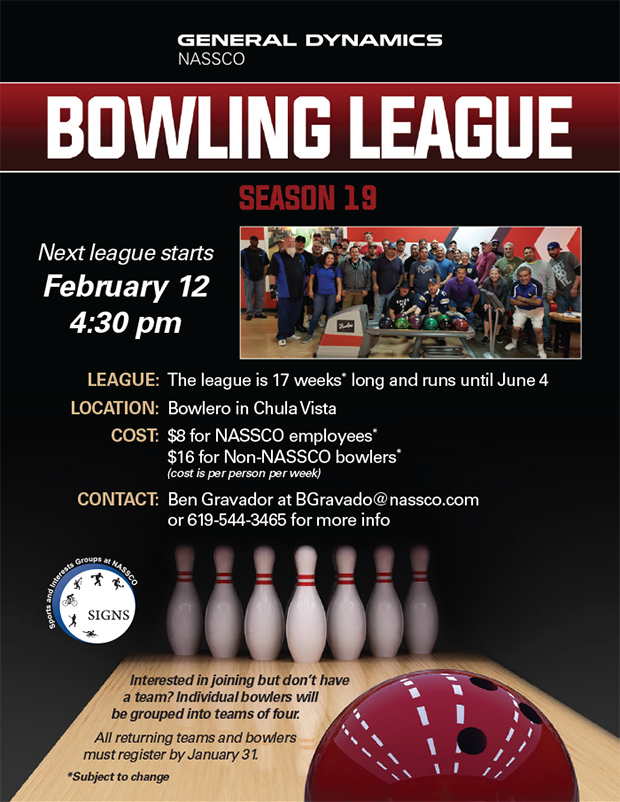 SIGNS Bowling League Season 19 @ Bowlero