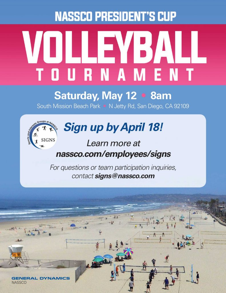 NASSCO President's Cup Volleyball Tournament @ San Diego | California | United States